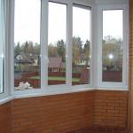 Пластиковые окна для балконов