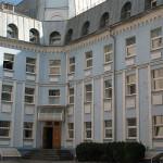 Здание с пластиковыми окнами