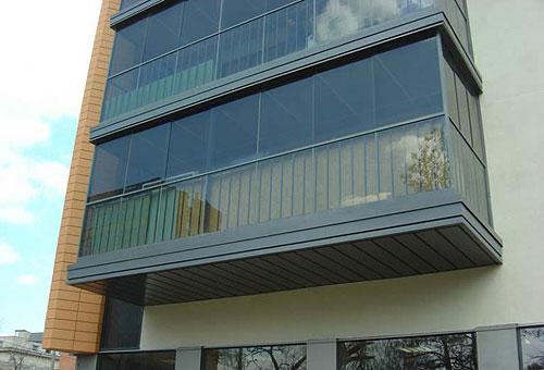 Отделка балкона алюминием в Пензе