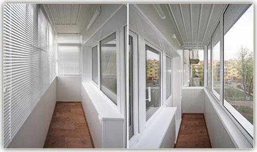 Отделка балконов и лоджий в Пензе