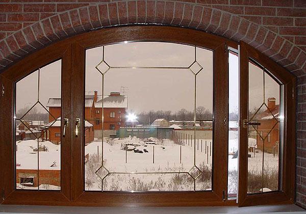 Пластиковые окна для коттеджа